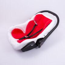 Berry Baby Plüss szűkítőbetét/alátét babahordozóba 4-12 hós: piros  (univerzális)