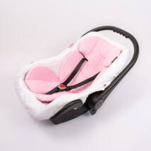 Berry Baby Plüss szűkítőbetét/alátét babahordozóba 4-12 hós: rózsaszín  (univerzális)