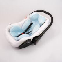Berry Baby Minky újszülött szűkítőbetét babahordozóba 0-4 hó: babakék  (univerzális)