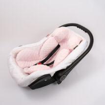 Berry Baby Minky újszülött szűkítőbetét babahordozóba 0-4 hó: világos rózsaszín  (univerzális)