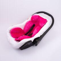 Berry Baby Minky újszülött szűkítőbetét babahordozóba 0-4 hó: pink (univerzális)