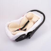 Berry Baby Minky újszülött szűkítőbetét babahordozóba 0-4 hó: mogyoró  (univerzális)