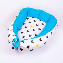 Berry Baby EXCLUSIVE Babafészek kókusz matraccal: Mickey fantasy 0-6 hó