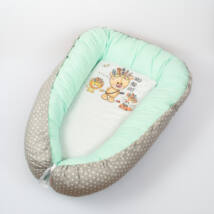 Berry Baby PRÉMIUM Babafészek kókusz matraccal: Wild and Free-menta
