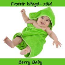 Frottír kifogó 75x75 cm: zöld