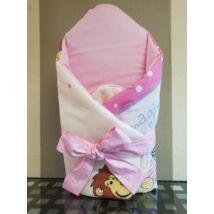 Berry Baby BASIC Kókuszpólya kivehető gerinctámasszal: Rózsaszín szafari