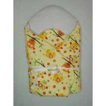 Berry Baby Koraszülött kókuszpólya -sárga bagoly