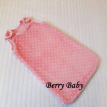 Berry Baby Baba hálózsák- babarózsaszín pöttyös WELLSOFT: 3-6 hó