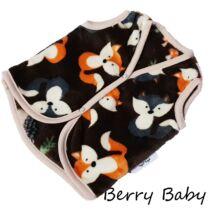 Berry Baby wellsoft mellény - Barna rókás 6-12 hós