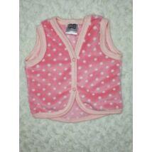 Berry Baby wellsoft mellény - Rózsaszín pöttyös 1-2 éveseknek