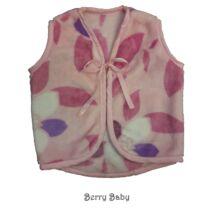 Berry Baby wellsoft mellény - Rózsaszín nagy virágos 1-2 éveseknek