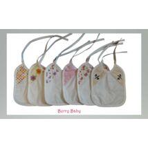 Berry Baby Szakálka egységcsomag- LÁNYOKNAK- vízhatlan hátoldallal
