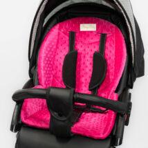 Berry Baby Zizi babakocsi alátét: pink minky