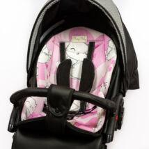 Berry Baby babakocsi alátét: Sweet Kitty cicás