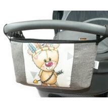Berry Baby Comfort babakocsi tároló Grafit - Wild and Free maci