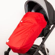 Univerzális Berry Baby lábzsák babakocsira: piros