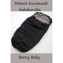 Berry Baby Múmia bundazsák babakocsiba: grafit