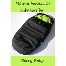 Berry Baby Múmia bundazsák babakocsiba: zöld