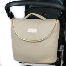 Berry Baby MAX 3in1 pelenkázó táska: Almond Milk