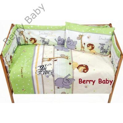 Babaágynemű- Berry Baby Basic- Zöld szafaris