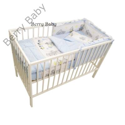 Babaágynemű- Berry Baby Basic- Kék macis