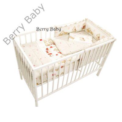 Babaágynemű- Berry Baby Basic- Bézs macis