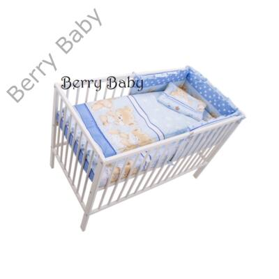 Babaágynemű- Berry Baby Basic- Kék nagy macis