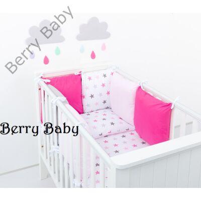 "Berry Baby Luxus babaágynemű szett- ""Pink star"""