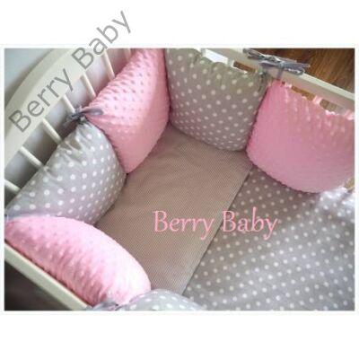 """Berry Baby Luxus babaágynemű szett- """"Bubble-Rose"""""""