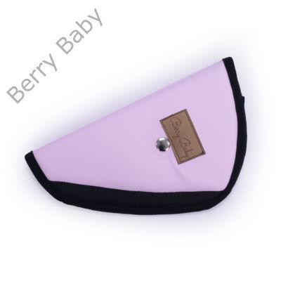 Biztonsági öv elterelő- öv elvezető gyerekeknek a Berry Baby-től: rózsaszín BŐR