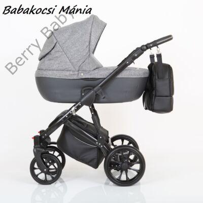 Berry Baby CORRADO multifunkciós babakocsi szett (autós hordozóval és adapterrel!): CR1 Black