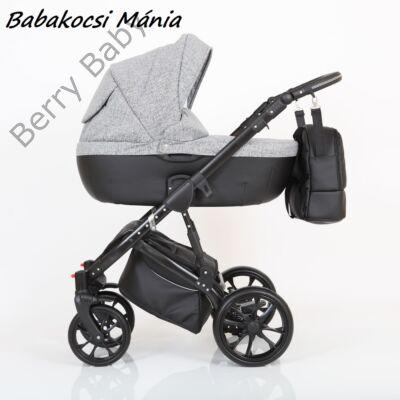 Berry Baby CORRADO multifunkciós babakocsi szett (autós hordozóval és adapterrel!): CR2 Black