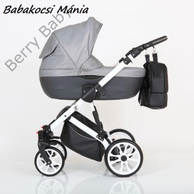 Berry Baby CORRADO multifunkciós babakocsi szett (autós hordozóval és adapterrel!): CR3 White
