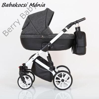 Berry Baby CORRADO multifunkciós babakocsi szett (autós hordozóval és adapterrel!): CR4 White