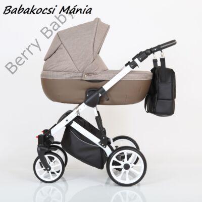 Berry Baby CORRADO multifunkciós babakocsi szett (autós hordozóval és adapterrel!): CR6 White