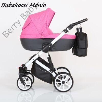 Berry Baby CORRADO multifunkciós babakocsi szett (autós hordozóval és adapterrel!): CR9 White