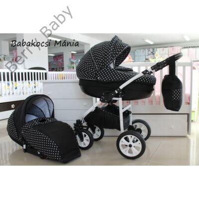 Berry Baby Lux 3in1 babakocsi szett (autós hordozóval és adapterrel): Z-22
