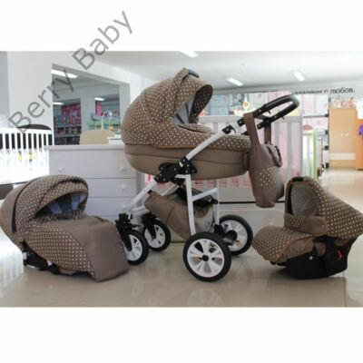 Berry Baby Lux 3in1 babakocsi szett (autós hordozóval és adapterrel): Z-5