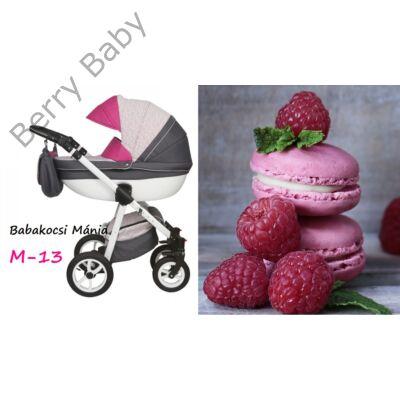 Berry Baby Macaron 3in1 multifunkciós babakocsi szett (autós hordozóval és adapterrel): M-13