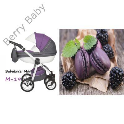 Berry Baby Macaron 3in1 multifunkciós babakocsi szett (autós hordozóval és adapterrel): M-19