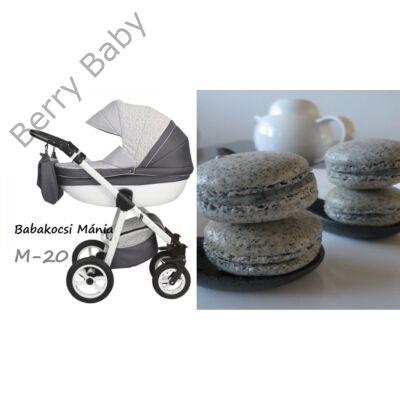 Berry Baby Macaron 3in1 multifunkciós babakocsi szett (autós hordozóval és adapterrel): M-20
