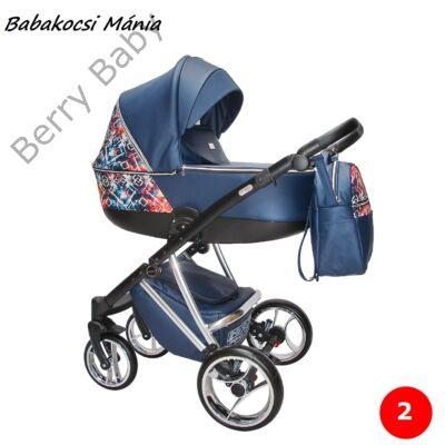 Berry Baby- Sojan AGIX multifunkciós babakocsi szett: Royal Blue