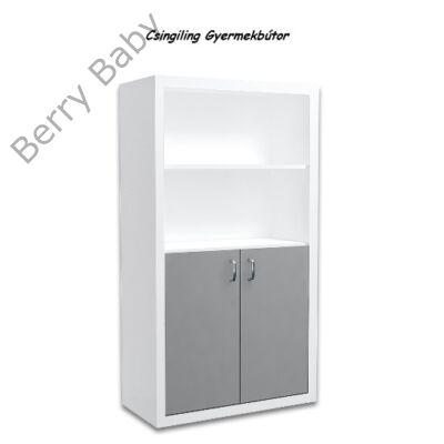 Filip COLOR 2 ajtós álló szekrény: szürke
