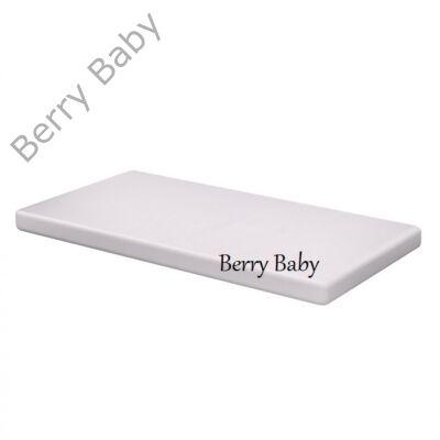 Szivacs matrac kiságyba- hófehér 60x120x6cm