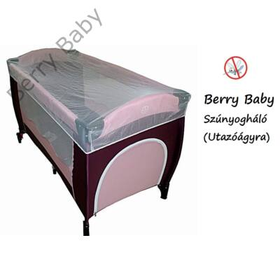 Berry baby Szúnyogháló utazóágyra - univerzális