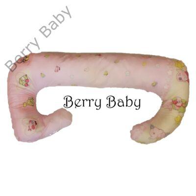 Berry Baby Kismama párna póthuzat: rózsaszín elefántos