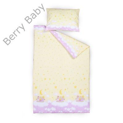 Berry Baby huzat szett ovisoknak: Sárga-rózsaszín macis