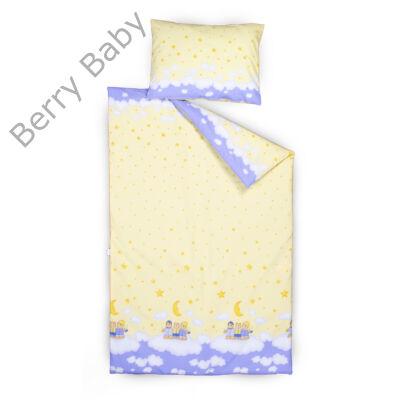 Berry Baby huzat szett ovisoknak: Sárga-kék macis