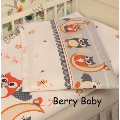 Berry Baby huzat szett ovisoknak: narancs baglyos