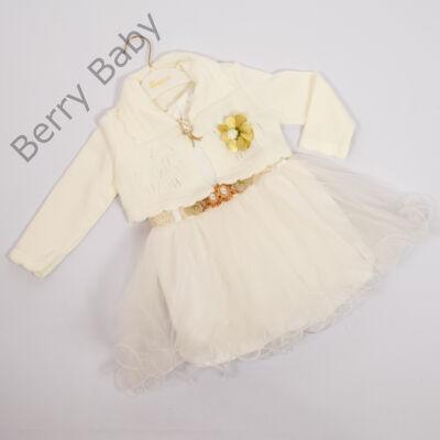 Kislány alkalmi ruha- kb. 4 éves gyermekre -2 részes